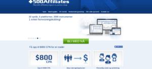 Affiliatenettverk for trading